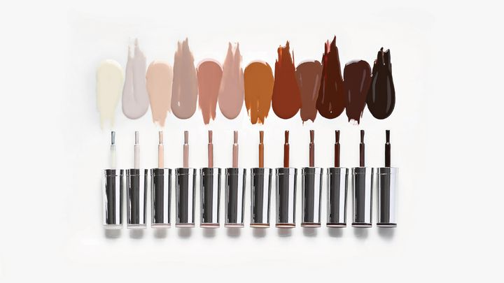 The GelBottle's Nu Nudes Collection features 12 unique colors to represent more skin tones and more cultures, while leaving a clean finish for a long-lasting manicure.  -