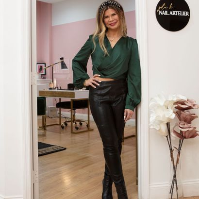 The Suite Life: Photo Tour of the Nail Artelier by Julie K