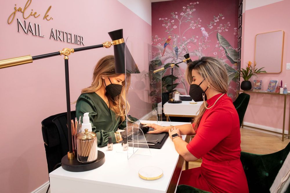 <p><em>Julie K Nail Artelier will offer guests the best in quality and high-end nail lacquer by Kandalec&rsquo;s best-loved brands including Essie, CHANEL, CND as well as over ten Indie and BIPOC brands such as Lights Lacquer, by Kathleen Lights and Deco.Miami, Olive &amp; June, Suite Eleven, Paintbox, Emilie Heathe and more.&nbsp;&nbsp;Enhancement services offered will be from CND, Gelish, Kiara Sky, Medusa, Tony Ly, and more.</em></p>