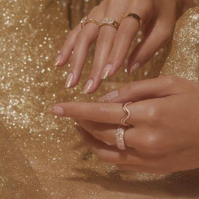 Manis & Matrimony: ManiMe Launches Stick-On Bridal Designs
