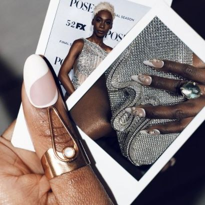 Get the Look: French Manicure With a Bridal Twist