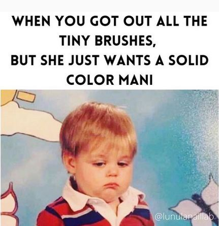 These Nail Memes Are Getting Us Through the Week