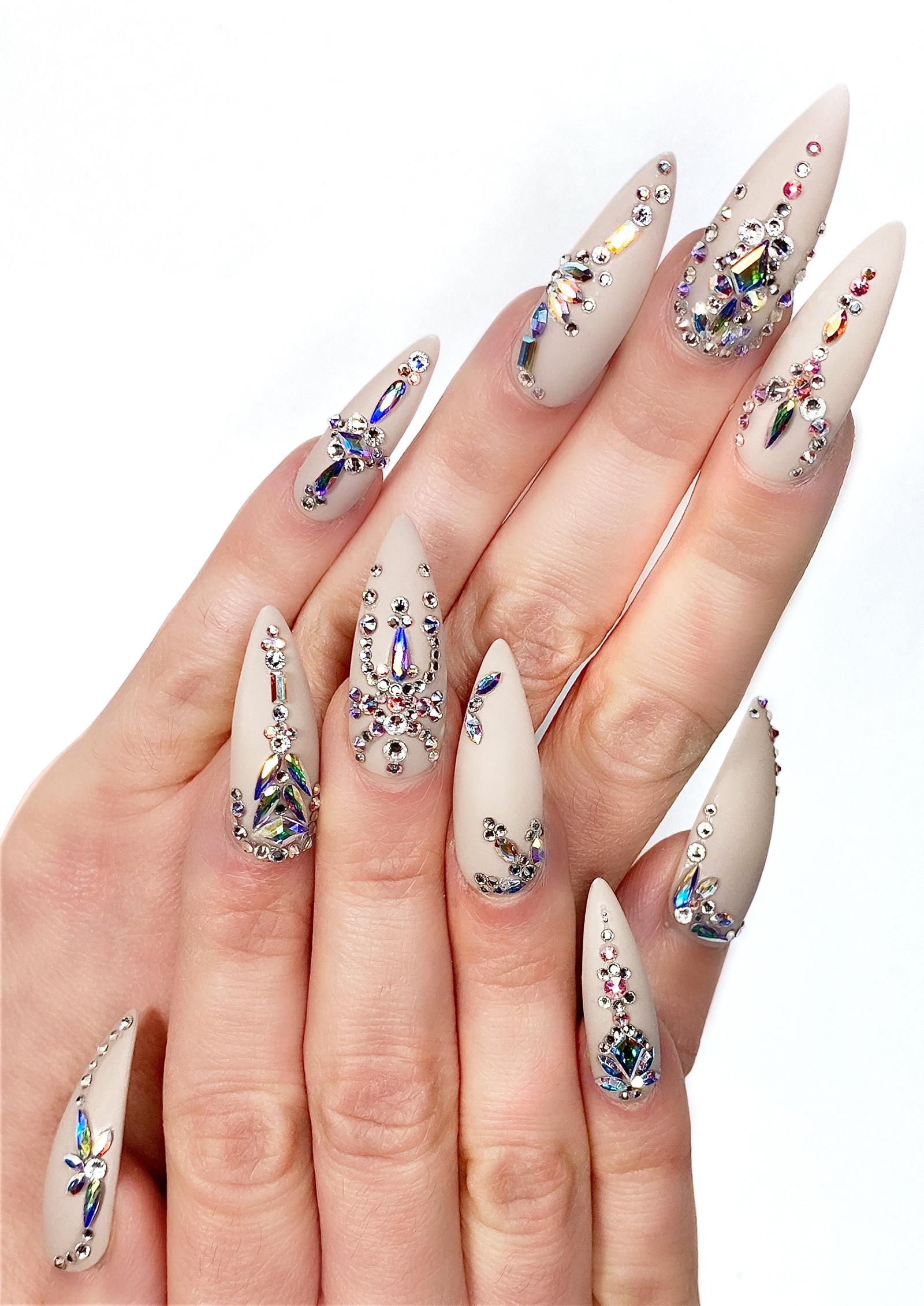 NTNA S. 7 Pre-Challenge 2: Jewelry Nail Art (April)