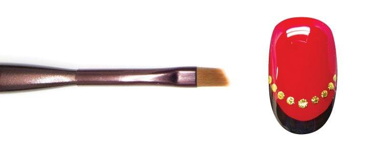 Angled brush  -