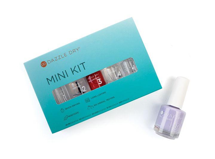 "<p>Dazzle Dry Holiday Mini Kit</p>  <p><a href=""http://www.dazzledry.com"">www.dazzledry.com</a></p>"