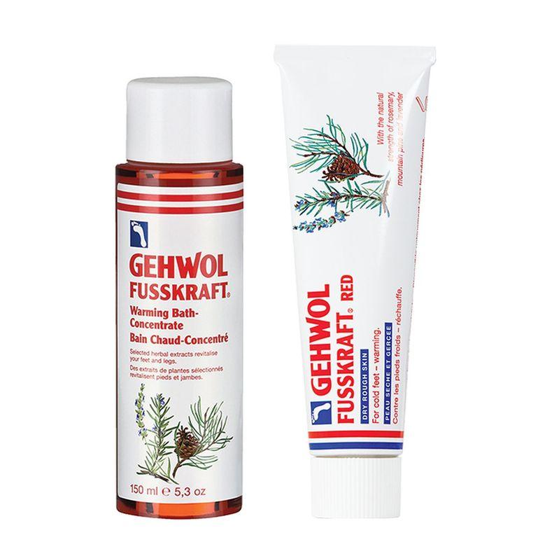 "<p>Gehwol Red Cream and Warming Bath</p>  <p><a href=""http://www.gehwol-usa.com"">www.gehwol-usa.com</a></p>"
