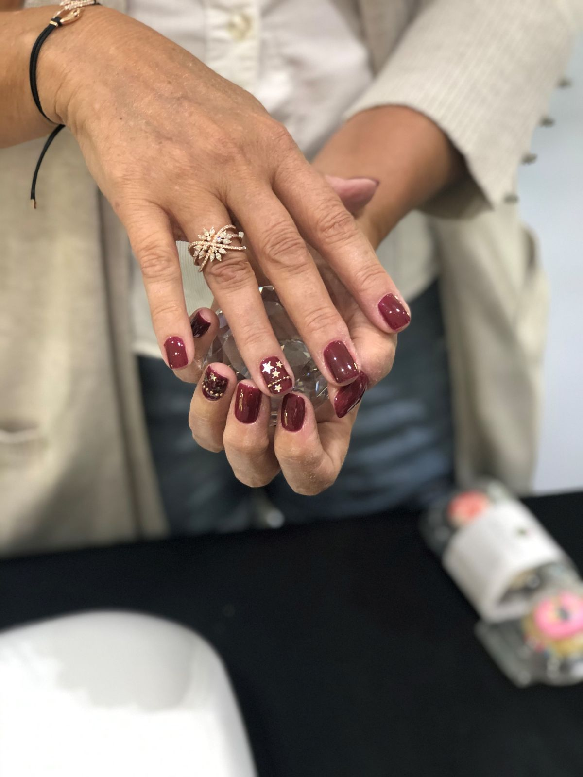 Crystal Nail Art Featured in Swarovski Locations