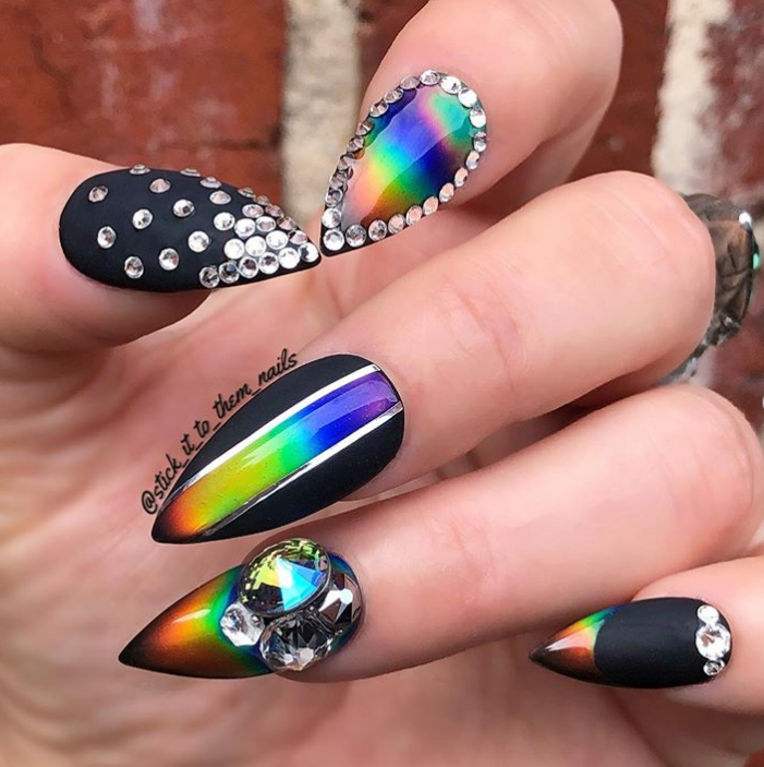 12 Mood Ring Nail Art Designs