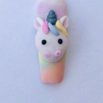 Cute Unicorn Nail Art Tutorial