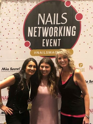 I was so excited to meet Amy Masters (right) and Anita Hug-Jones (left) at our Philadelphia Networking Event.  -