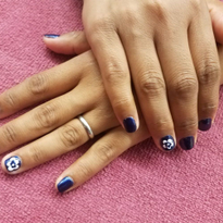 Week 7: First Nail Art and First Client