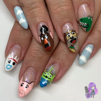 Day 318: Toy Story 4 Nail Art