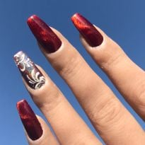 Day 346: Holo Sugar Nail Art