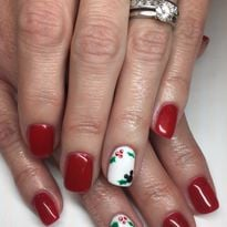 Day 361: Disney Holly Nail Art