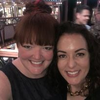 Holly and Elizabeth, owner and creator of The Nail Hub