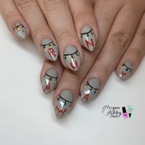 Day 282: Stranger Things Nail Art