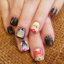 Day 275: Hocus Pocus Nail Art