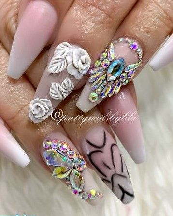Nails by Lila Nguyen @lilanguyen_cnd_ea  -