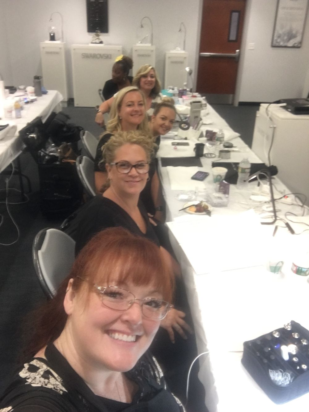 Taking nail classes with othersis a great form of collaboration.  -