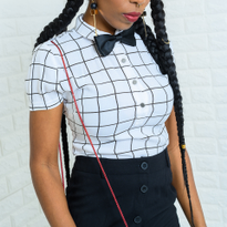 Look 1: Lavette Loves Black & White