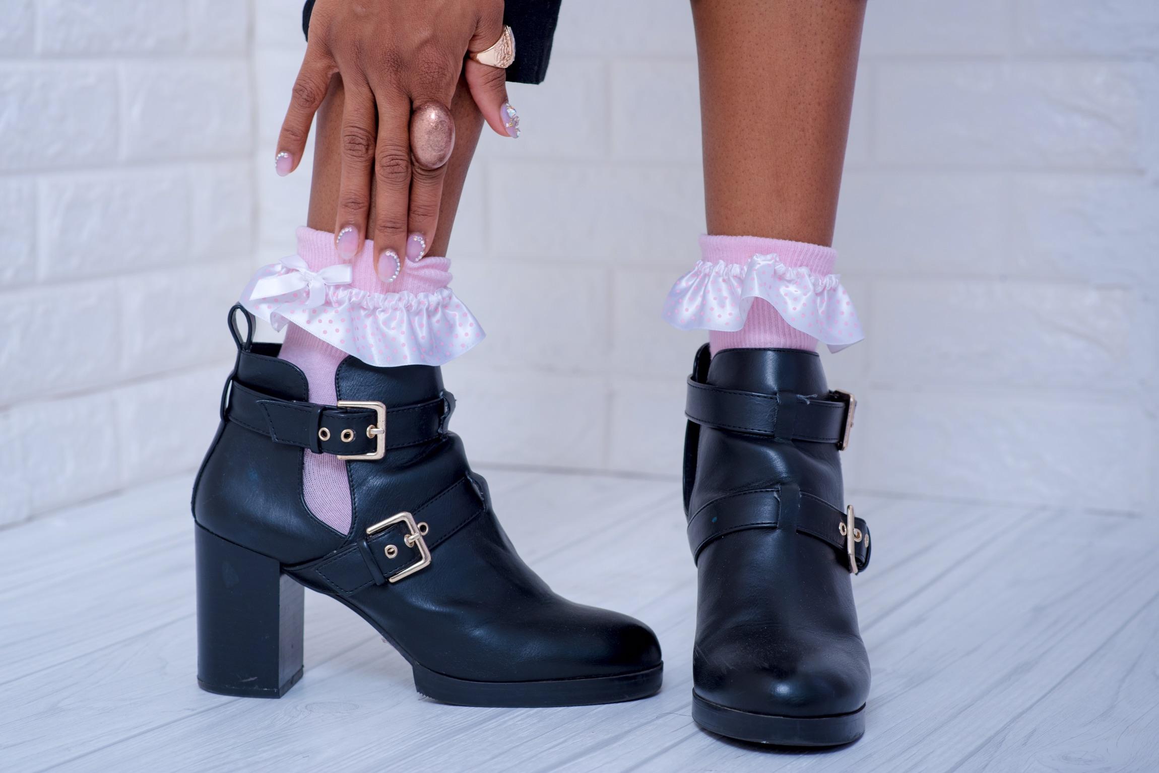 Look 3: Nails & Socks