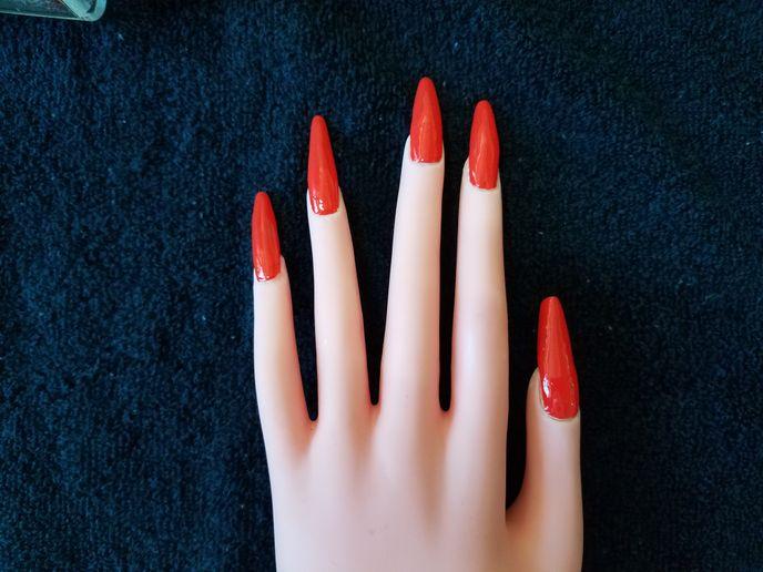 Shirley's Halloween mani  -