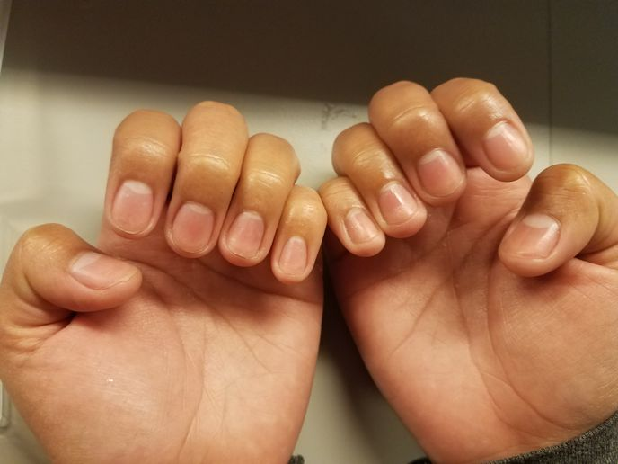 This week focused on giving manicures.  -