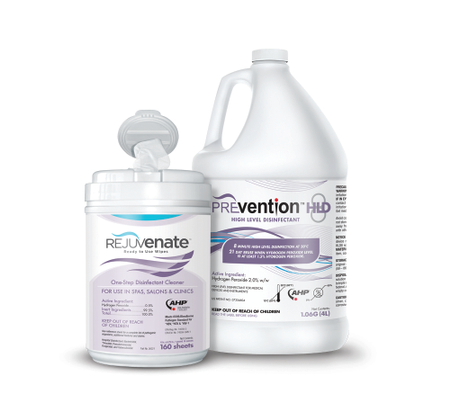 Disinfect With Ease Using Rejuvenate Products