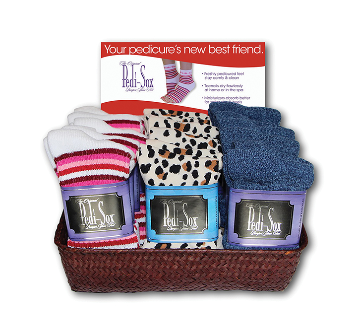 Keep Clients Cozy With Pedi-Sox