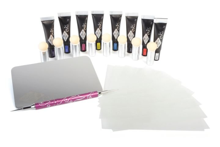 High Pigmented Nail Art Kit  -