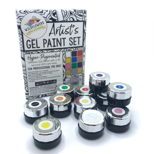 Wildflowers Artist's Gel Paint Set