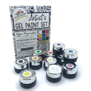 Wildflowers Artist's Gel Paint Set