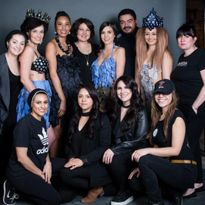 The team from Mark Pardo Salonspa in Albuquerque, NM.