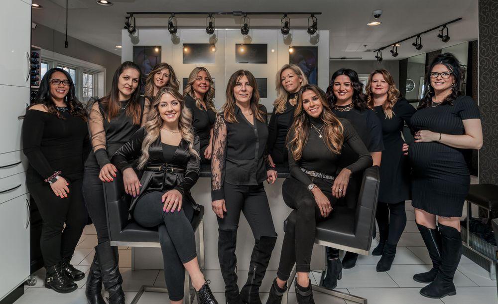 <p>The team at Salon Riza and Day Spa</p>