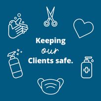 The Kao Salon Industry Recovery Initiative also sent Reopening Kits with masks, hand sanitizer...