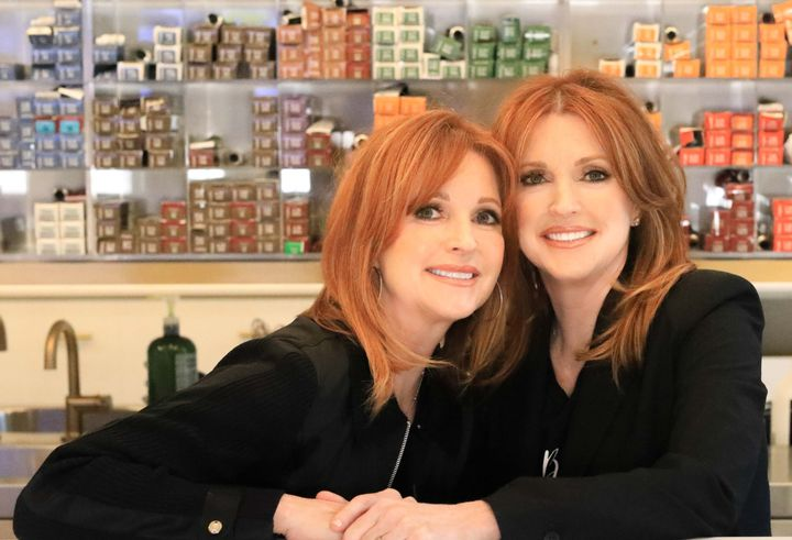 Holli Gaspard and Heather Mahoney, owners of H20 Salon and Spa. Mahoney owns the location in Mandeville, Louisiana, and Gaspard owns the one in Metairie, Louisiana.   -