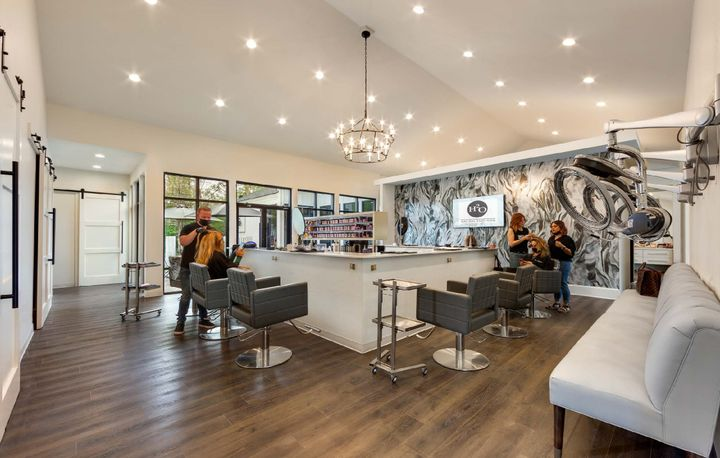 The H20 Salon and Spa in Mandeville.   -