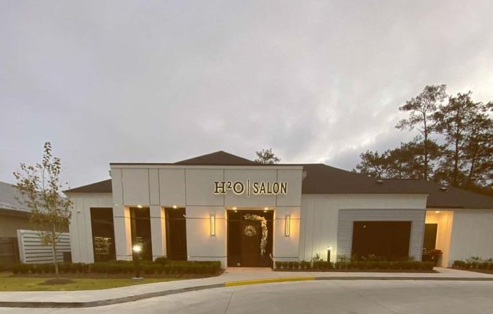 An exterior shot of H20 Salon in Mandeville.   -