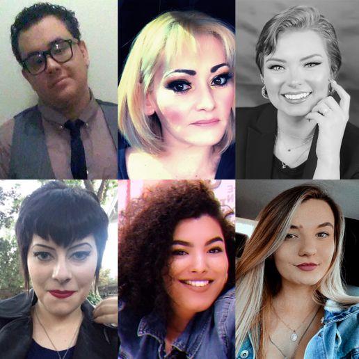 Rosy Rewards Scholarship winners for Q2 2021 are (top row, l‐r): Shaun Bernal, Windy Harvey, Eden Klein; (bottom row, l-r): Carissa Seth, Victoria Sheard, Madison Thompson.  -