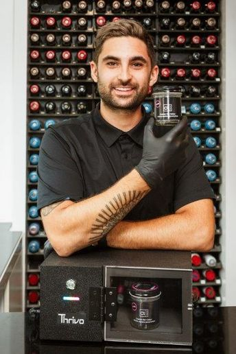 At Colour Lab in Toronto, Owner Raphael Azran uses the Omni1 by Thrivo to create at-home color kits for clients that are good for up to six months, and Azran says he will continue to do so even though the salon is reopened.   - Katie O'Connor