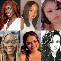 (Top L-R): Adrienne Berry, Kayla Cannady-Truewell, Kalyan Collins (Bottom L-R): Laurie Fekete,...