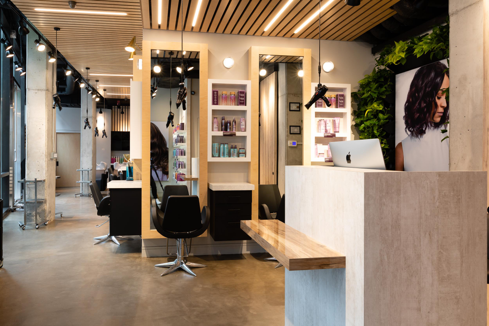 <p>The salon&nbsp;is Pureology&rsquo;s first flagship store in Brooklyn and serves as their premiere paperless salon.</p>