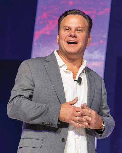 """Are you ready for artificial intelligence, salon mobility and personalized marketing? These are the trending business """"musts"""" for salons says Millennium's John Harms.  -"""