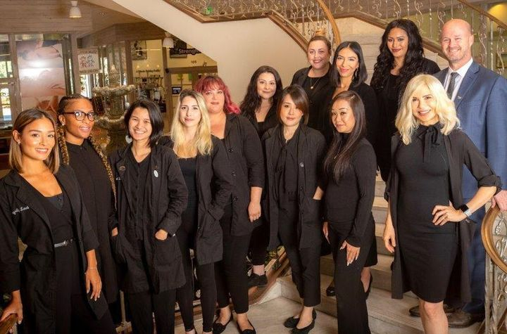 The team from Integrity Lash in Pasadena, CA. 