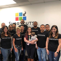 The Shortcuts team in Huntington Beach, California.