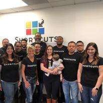 The Shortcuts team in Huntington Beach, California.