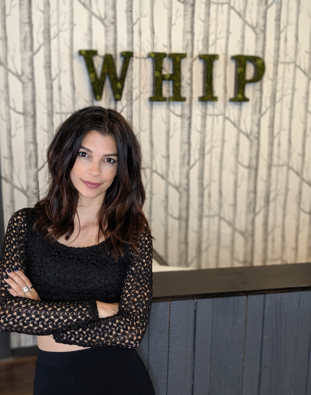<p>Marcelle Tiffany is the first franchisee owner at Whip Salon.&nbsp;</p>