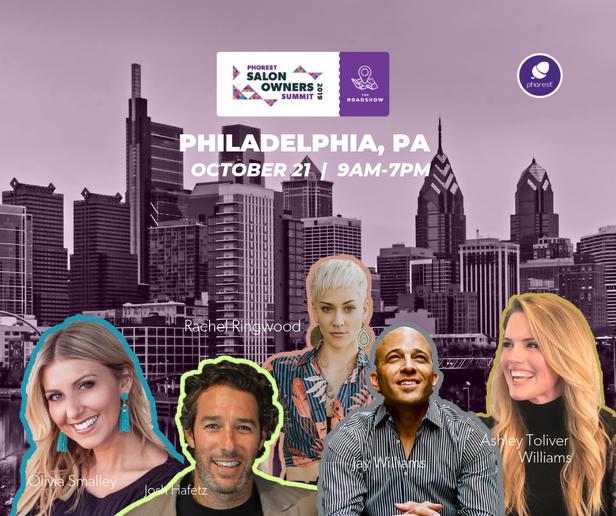 Phorest's next Salon Owner Summit is scheduled for October 21 in Philadelphia.   -