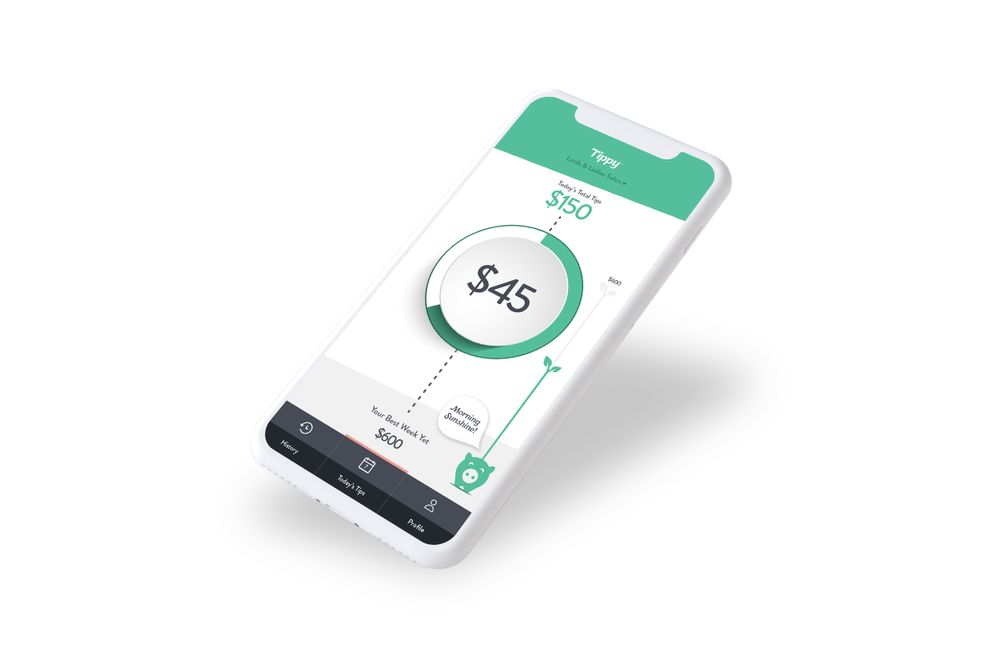 <p>With the Tippy app, stylists are notified when a client tips them and they can check their daily tip balance at any time.&nbsp;</p>