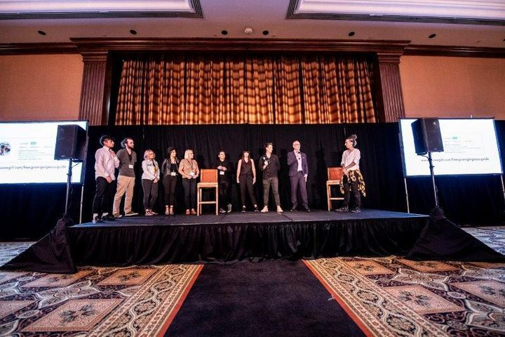 The competitors from last year's 2 to 10 Emerging Leaders Conference present their InstaStrong markting campaigns at the 2 to 10 Conference in spring 2019. 